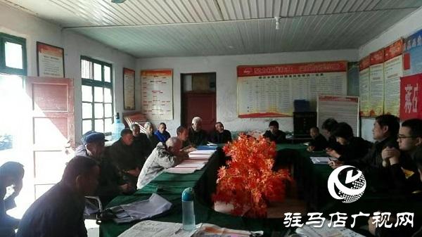 西平县谭店乡开展主题党日活动