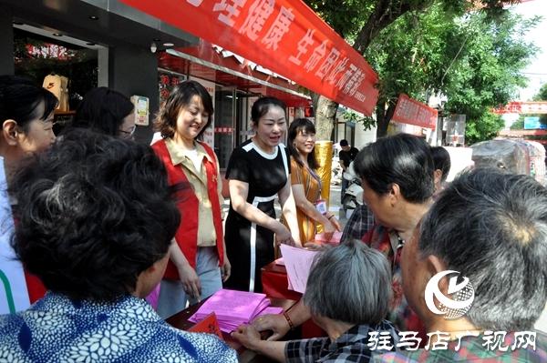 正阳县总工会主题教育为民办实事