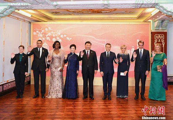 习近平和彭丽媛设宴欢迎出席进博会的各国贵宾
