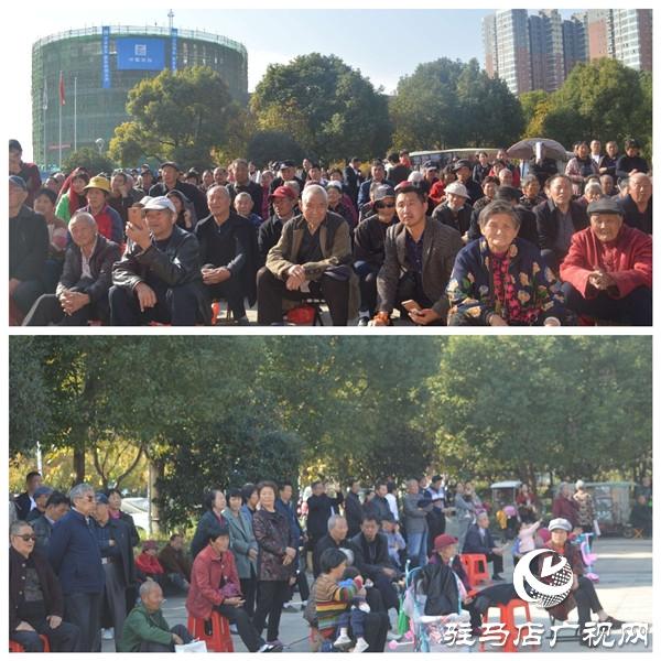 豫坡集团助力驻马店市第六届戏迷及器乐擂台赛举行