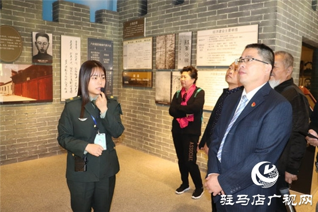 新蔡县栎城乡党委开展缅怀革命先烈活动