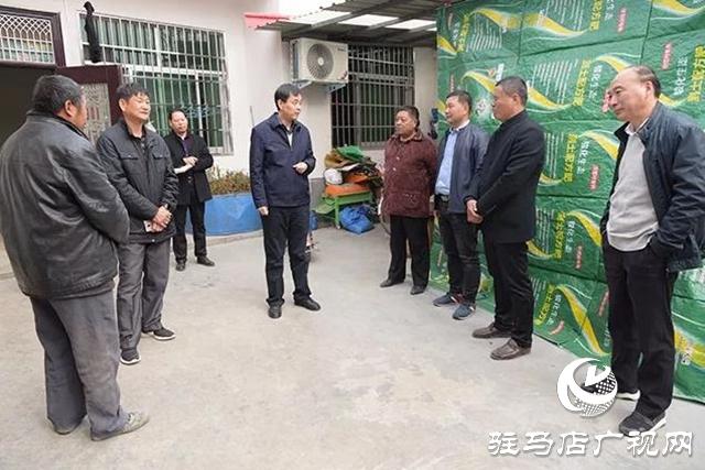 上蔡县委副书记 县长李卫明暗访脱贫攻坚工作
