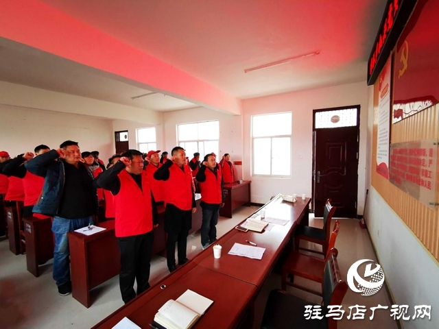 正阳彭桥乡各党支部扎实开展主题党日活动