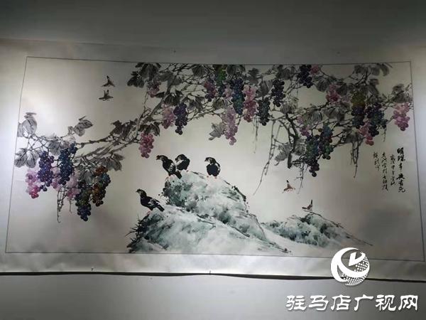 张克洪个人画展在黄淮学院美术馆开展