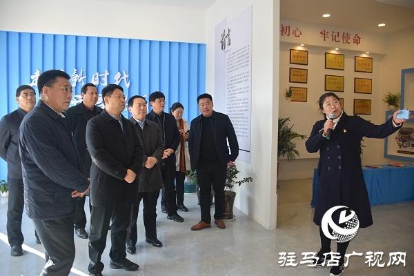 漯河市考察团到汝南县考察脱贫攻坚工作