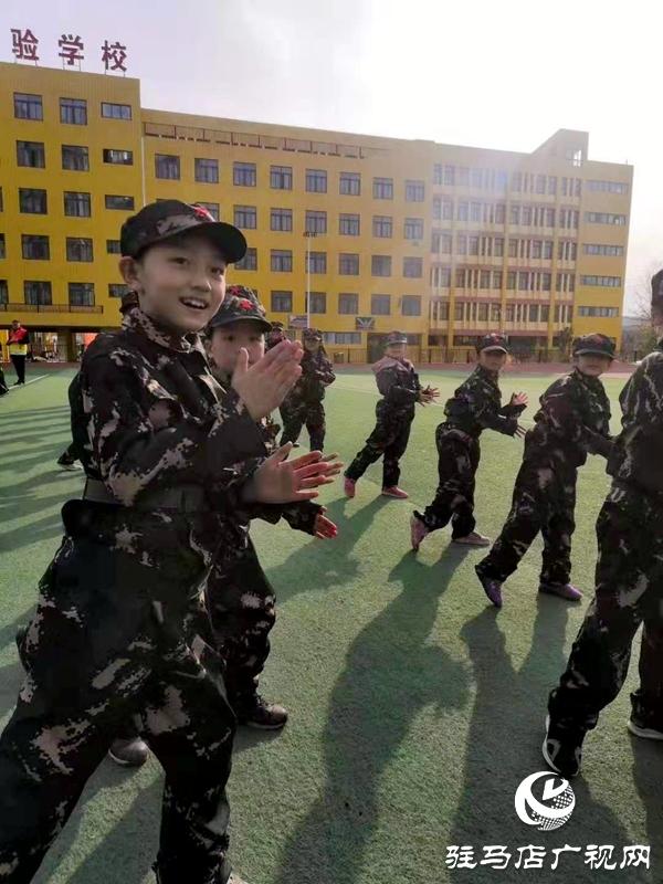 天中义工联合会到泌阳县开展农村留守儿童拓展训练活动