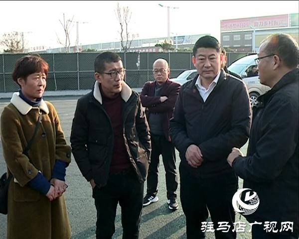西平县委书记聂晓光调研重点项目建设
