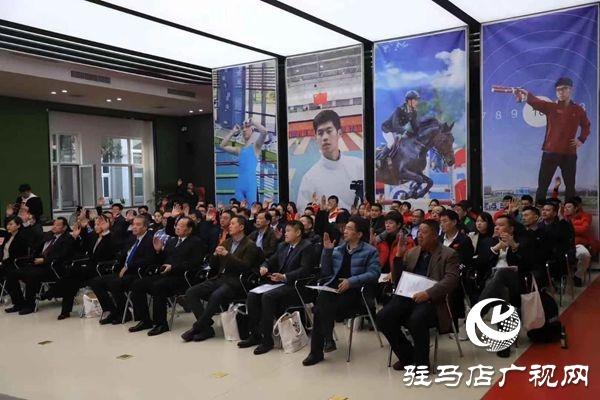 驻马店市本土服装企业获中国现代五项运动协会2019年度优秀赞助商荣誉奖