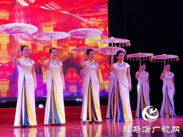 """市妇联""""天中紫薇""""干部合唱团举办迎新春文艺汇演"""