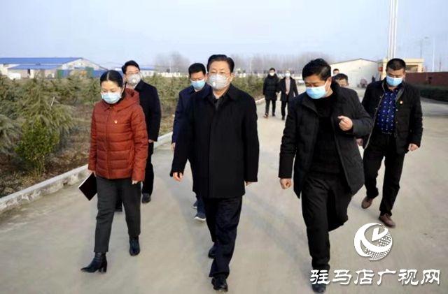 朱是西到正阳县督导新型冠状病毒感染的肺病疫情防控工作