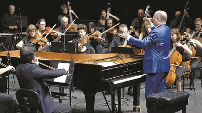 悉尼歌剧院奏响《黄河》 中澳音乐家携手为武汉加油