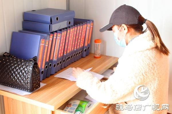 """汝南县古塔街道:抗疫队伍有个""""花木兰"""""""