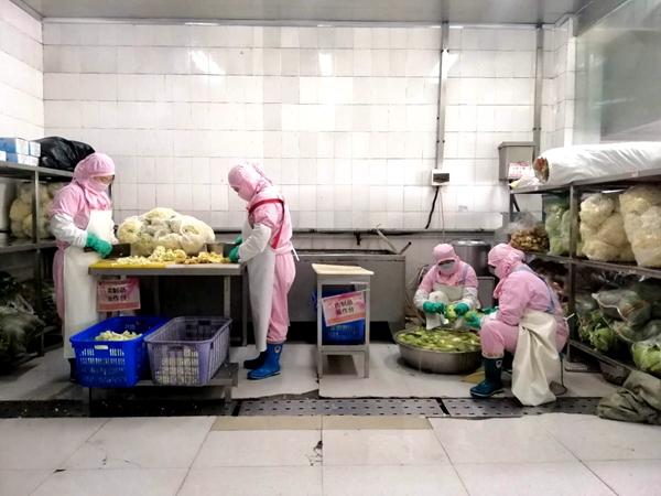 市市场监督管理局开展职工食堂安全检查 保障企业顺利复工复产