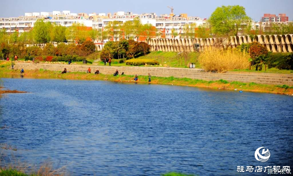 河边微风轻柔