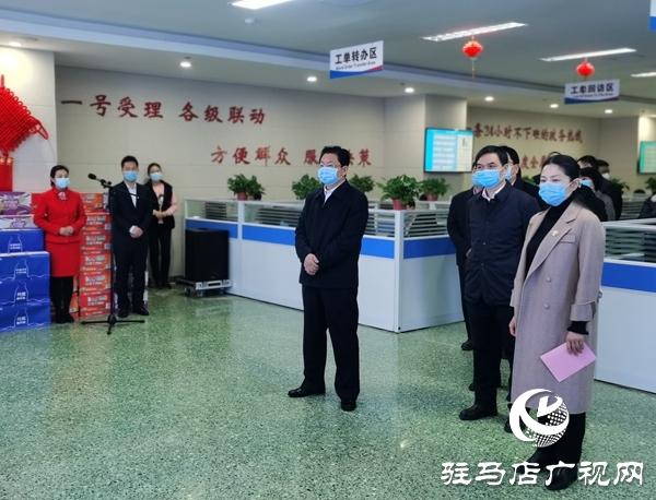 """朱是西:寄语政务服务热线要当好""""四大员"""""""