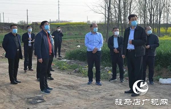 上蔡县领导李卫明调研督导大气污染防治重点城建项目工作