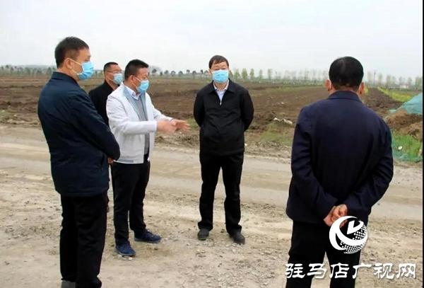 上蔡县委书记胡建辉调研重点城建项目建设工作