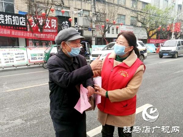 正阳县总工会等多部门开展爱国卫生月宣传活动