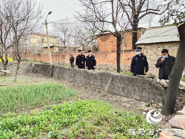遂平县公安局风景区派出所积极开展铲毒禁种工作