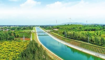 南水北调中线工程向河南省供水100亿立方米