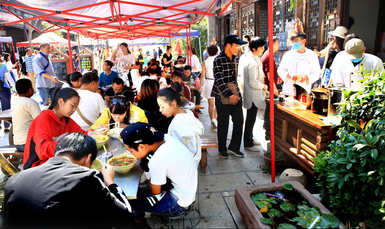 五一去哪儿玩丨打卡河南网红街:开封朱仙镇启封故园魁星街