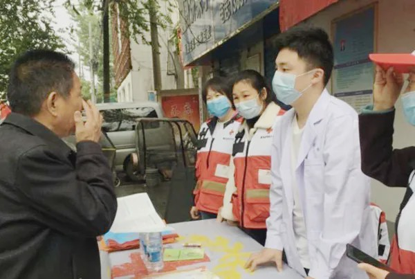"""驿城区红十字会举行""""5·8世界红十字日""""公益活动"""