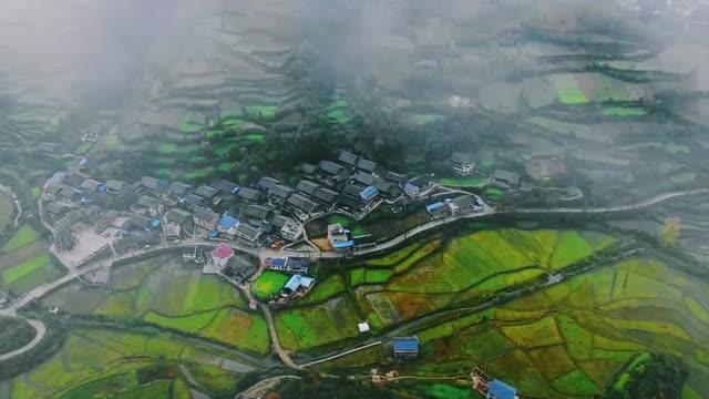 """竹坡梯田:湘黔交界之地的""""最美""""弧线"""