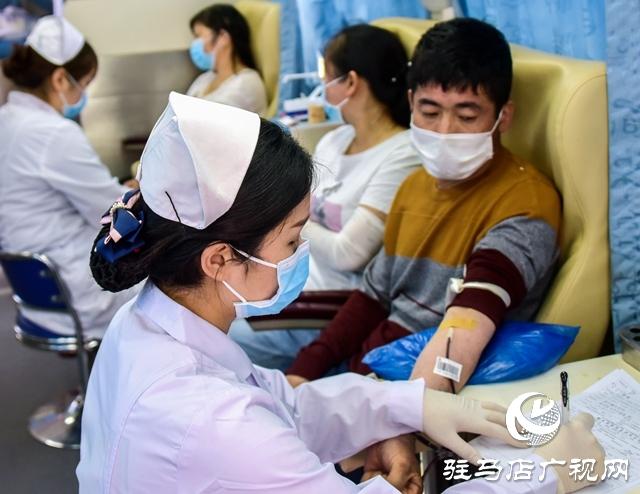 正阳县永兴镇:爱心献血 传递温情