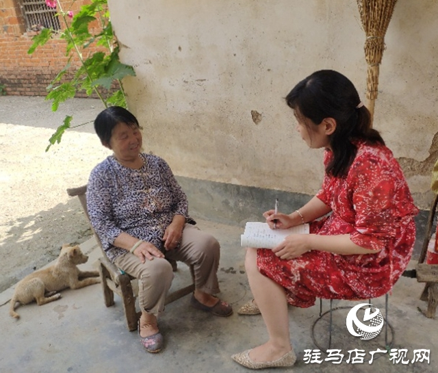 贫困户张桂芝:俺家杏子熟了,要请韩书记来做客