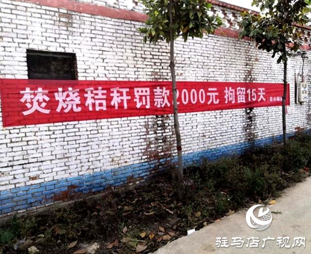 """泌阳县春水镇筑牢秸秆禁烧""""防护墙"""""""