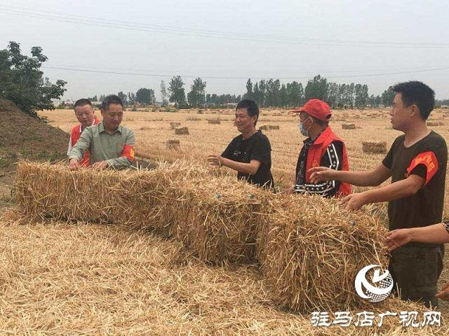 """正阳县兰青乡:禁烧""""战场"""",党员在前"""
