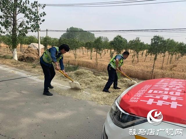 """正阳县交通运输执法局为""""三夏""""公路畅通保驾护航"""