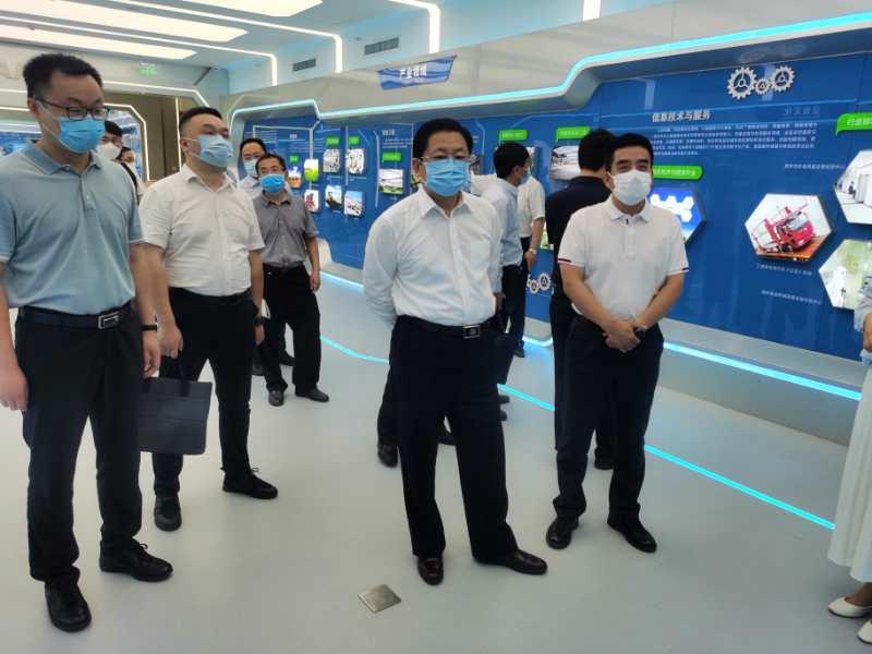 驻马店市长朱是西率队赴京开展专项招商活动