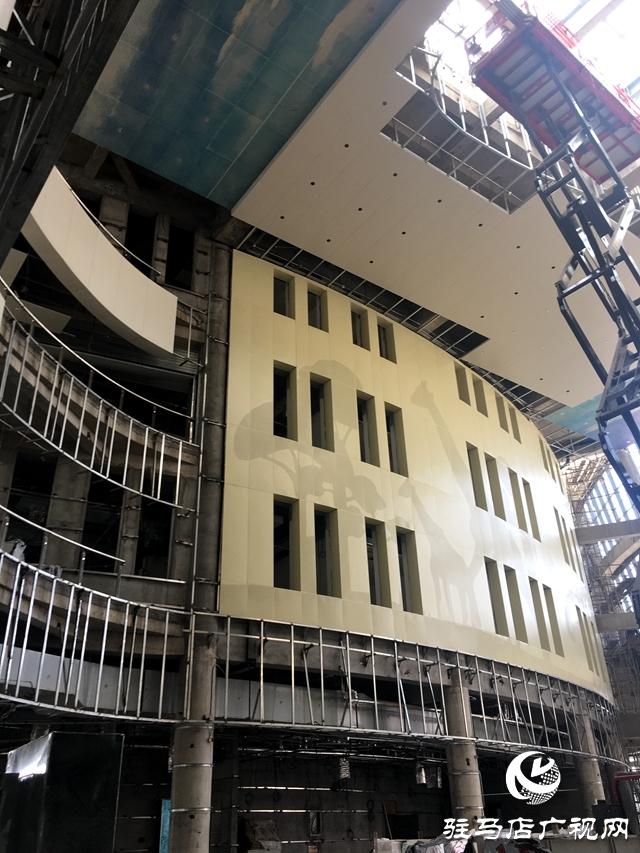 驻马店市妇女儿童医院将于今年十月份正式投入使用