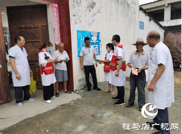 开发区红十字会组织志愿者开展健康知识普及乡村行活动