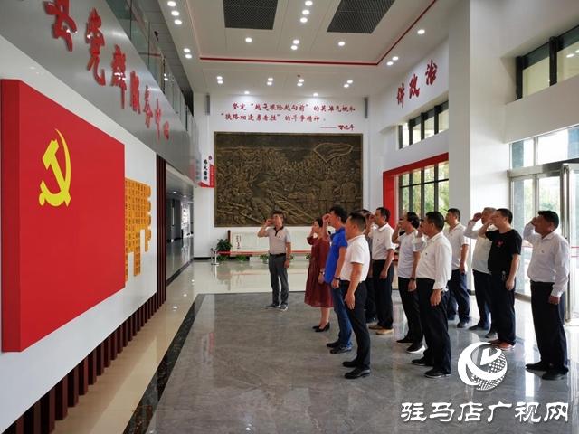 正阳县彭桥乡各党支部创新开展主题党日活动