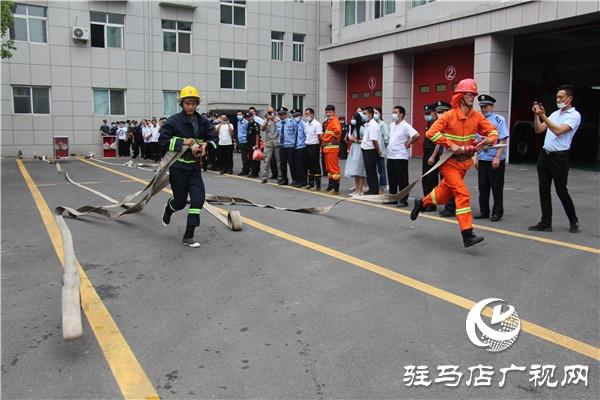 开发区消防救援大队开展多种形式比武竞赛