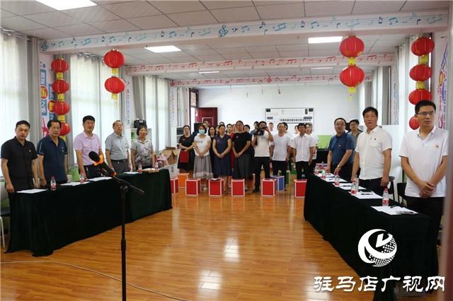 """泌阳县教师进修学校举办迎七一""""颂党恩、跟党走""""朗诵会"""