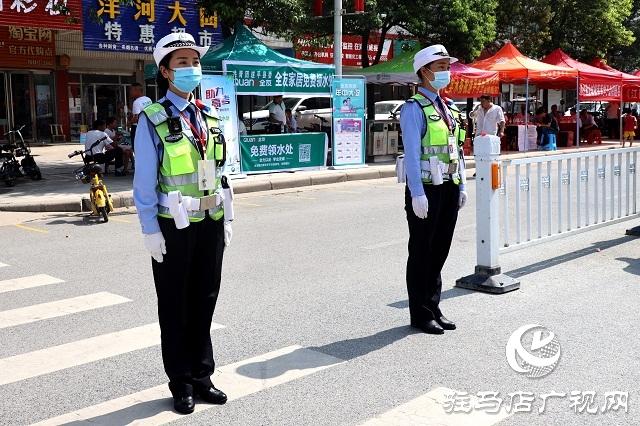 遂平县公安局全力以赴护航高考
