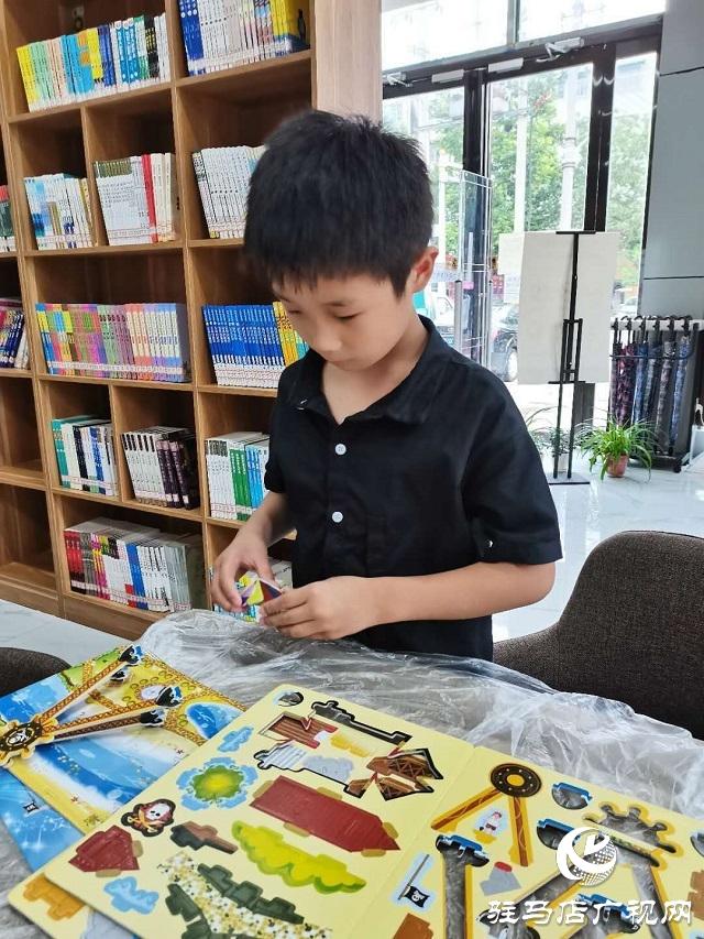 东明路城市书房举办创意雨伞绘画大比拼