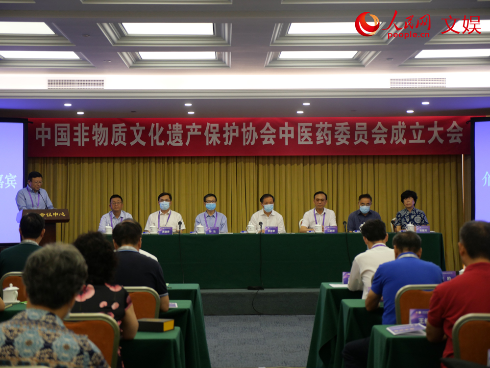 中国非物质文化遗产保护协会中医药委员会成立