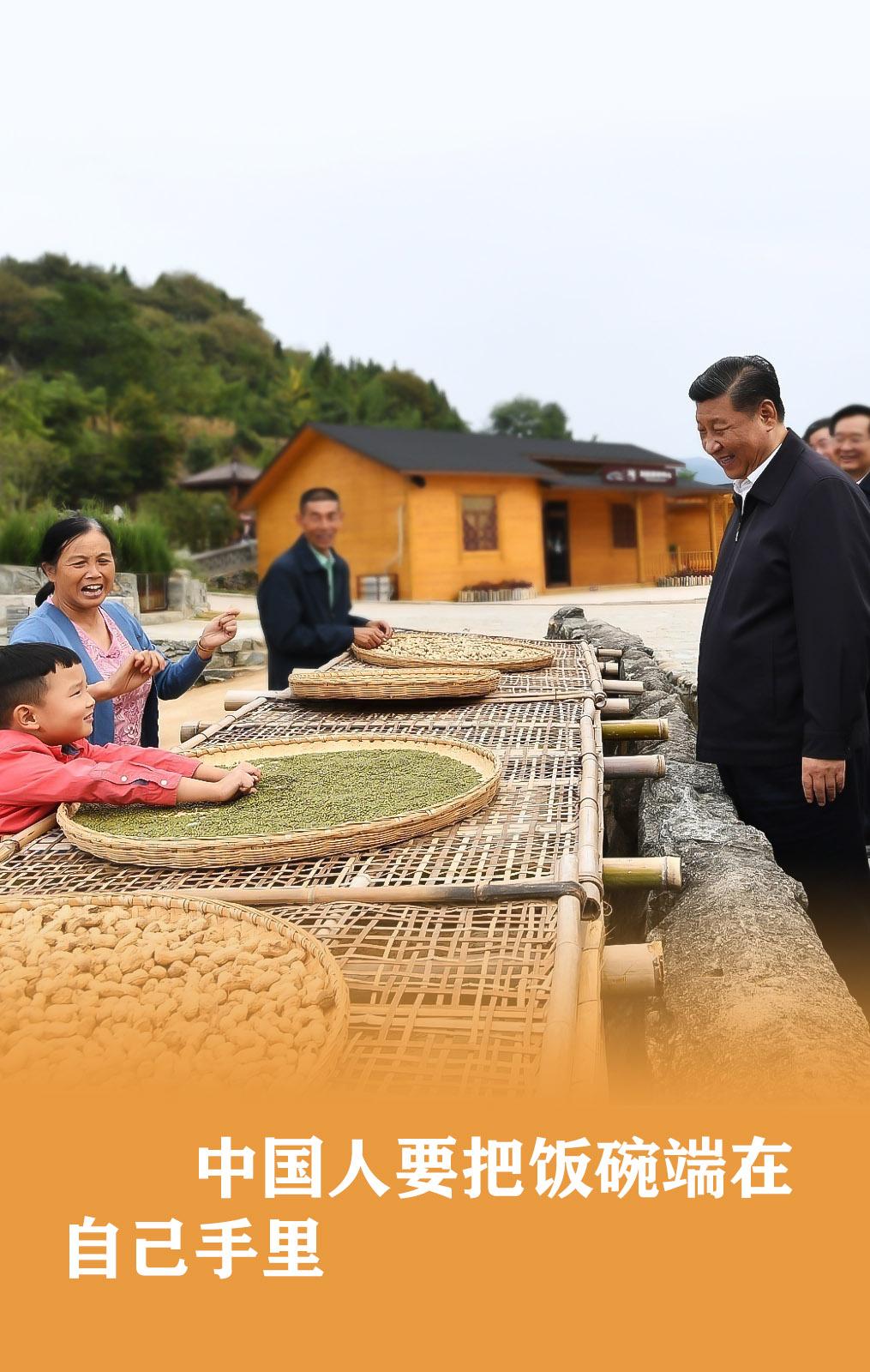 习近平:食为政首