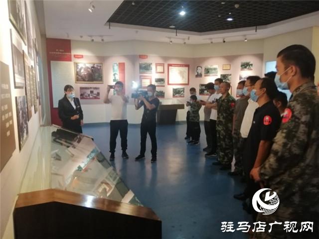 """驻马店市新青年创业公益协会开展庆""""八一""""红色教育活动"""