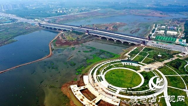 高清多图!带你了解练江湖大桥建设最新进展