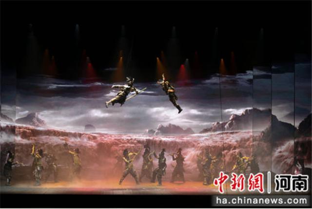 河南郑州的大型歌舞《黄帝千古情》开放第一次探营