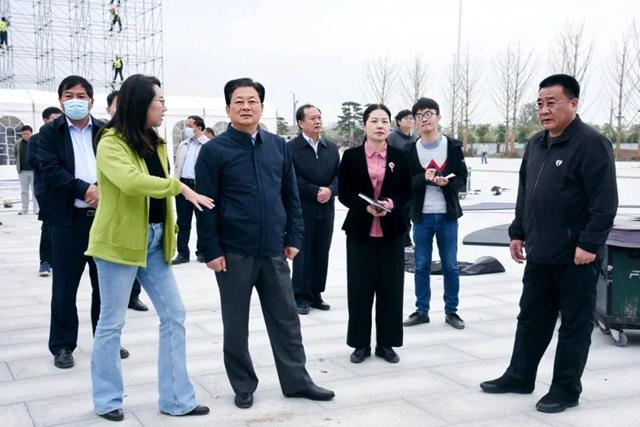 朱是西深入汝南县调研中国农民电影节活动筹备情况