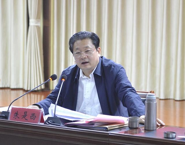 驻马店市长朱是西:要理直气壮为企业家撑腰站台