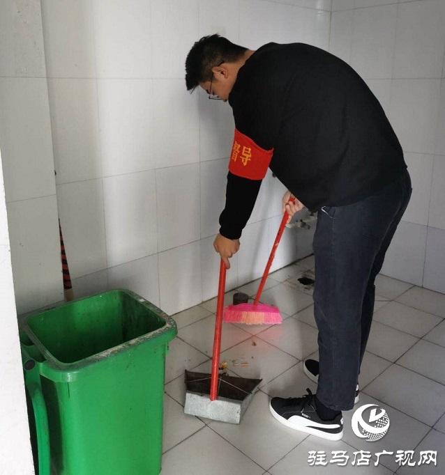 黄淮学院国际教育学院:创建无烟校园 倡导文明新风