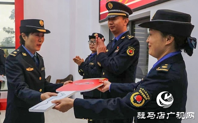正阳县城管局成立女子执法中队