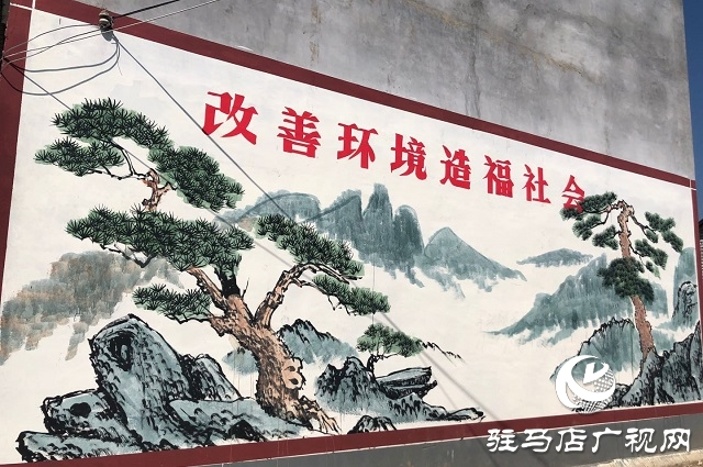 文化墙扮靓美丽乡村